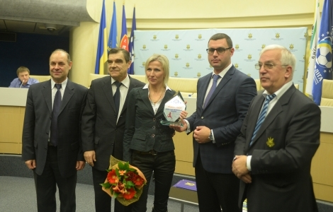 ФФУ наградила лучшую футболистку Украины