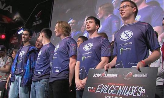 Чемпионы покидают StarLadder