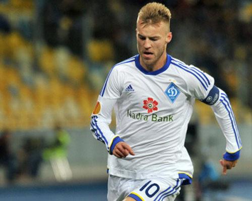 Ярмоленко - лучший игрок Украины, Бойко - лучший вратарь