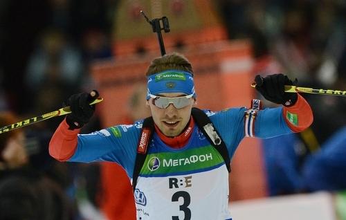 Поклюка. Антон Шипулин выигрывает спринтерскую гонку