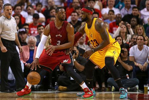 НБА. Майами сводит счеты с Кливлендом