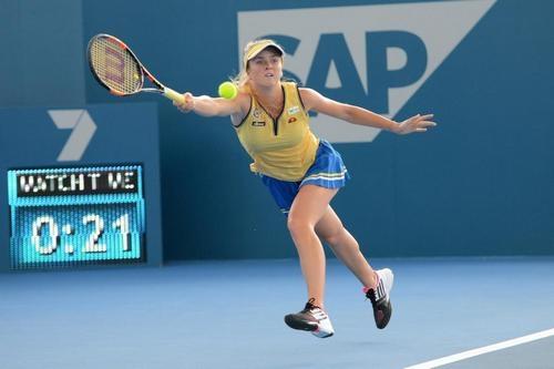 Элина Свитолина с победы стартовала на турнире в Брисбене