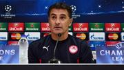Олимпиакос уволил главного тренера