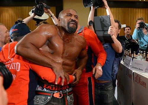 Сегодня Шеннон Бриггс выйдет на ринг