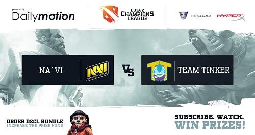 Финал виннеров D2CL: Natus Vincere против Team Tinker