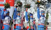 Украина финиширует пятой в эстафете, Россия - первая