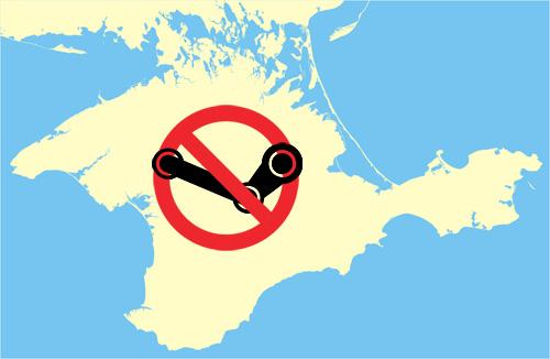 Steam будет закрыт на территории Крыма