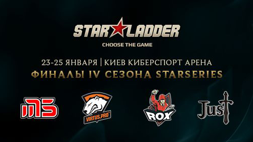 LAN-финалы StarSeries IV по League of Legends в Киеве!