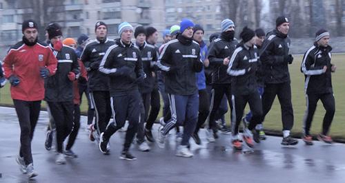Горняк-Спорт приступил к тренировкам