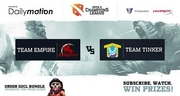 Финал лузеров D2CL: Team Empire против Team Tinker