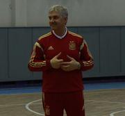 Главный тренер сборной Испании провел тренировку Урагана-2