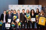 В Киеве наградили юных олимпийцев