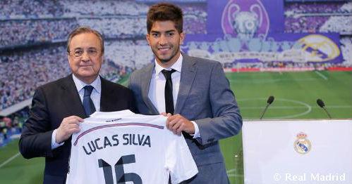 Реал официально представил Лукаса Силву