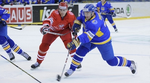Euro Ice Hockey Challenge: Украина уступила Польше