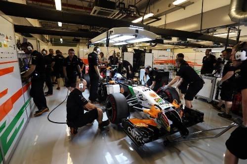 Force India отложила дебют нового болида