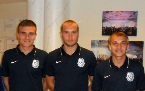 Черноморец подписал трех игроков