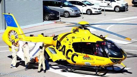 Ф. Алонсо доставлен в больницу после аварии в Барселоне