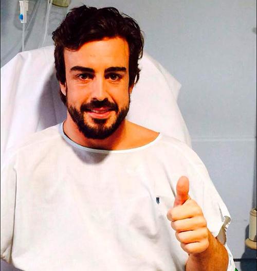 Заявление McLaren о состоянии Алонсо и причинах аварии