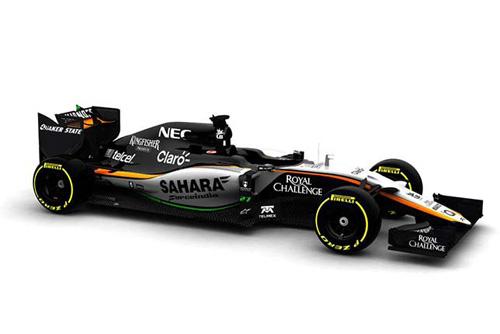 Force India представила изображение VJM08