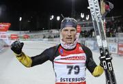 Эрик Лессер выигрывает гонку преследования, Семенов - 11-й
