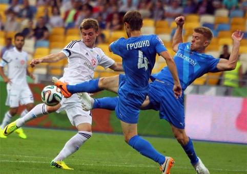 Динамо вымучило победу над Олимпиком