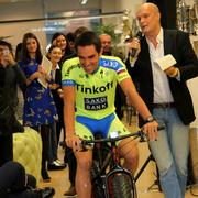 Альберто Контадор продлил контракт с командой Tinkoff-Saxo