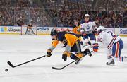 НХЛ. Первая выездная победа Эдмонтона. Матчи пятницы