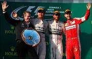 Льюис Хэмилтон выиграл Гран-при Австралии