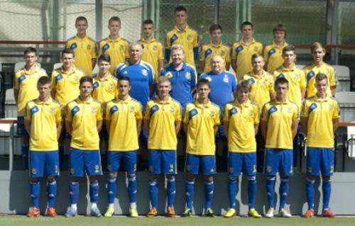 Сборная Украины U-18 начала подготовку к турниру в Латвии
