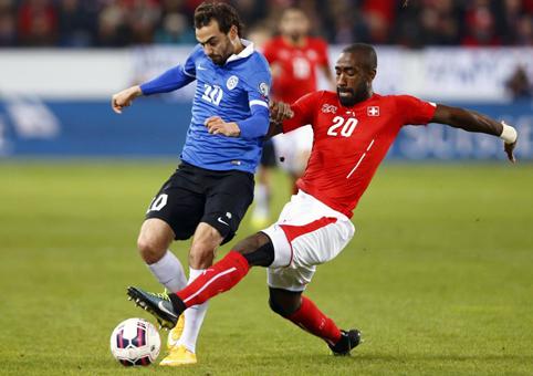 Швейцария – Эстония – 3:0. Видеообзор игры