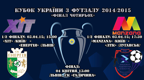 Финал четырех Кубка Украины: все матчи в прямом эфире на ТВ