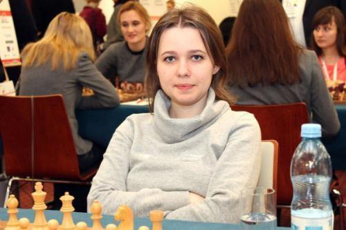 Мария Музычук лидирует в финале чемпионата мира