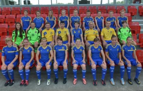 Немки деклассировали сборную Украины U-19