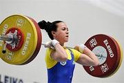 Юлия Паратова - чемпион Европы в тяжелой атлетике