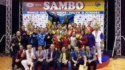 Самбисты привезли из Риги 24 медали!