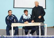 Олимпик послушал лекцию о последствиях договорных матчей