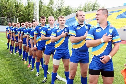 Сборная Украины по регби-15 переиграла сборную Бельгии