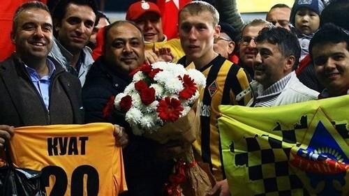 Молодой казах стал кумиром турецких болельщиков