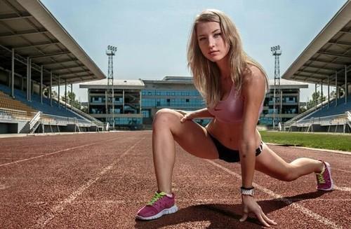 Казахская спортсменка оголилась ради легкой атлетики