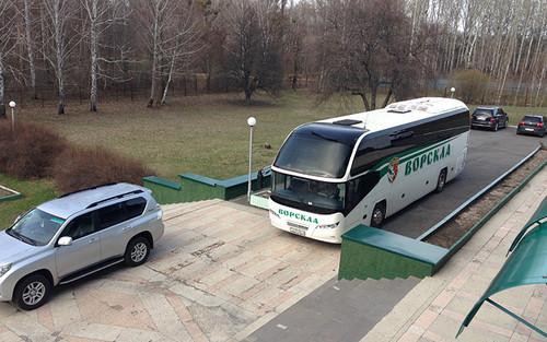 Ворскла прибыла в Киев на игру с Олимпиком