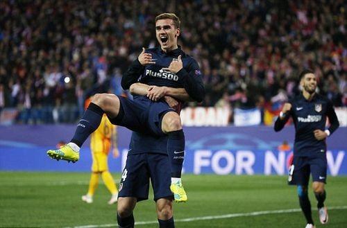 Атлетико в полуфинале Лиги чемпионов!