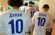 Игроки Зенита вышли на матч в футболках с надписью «Данни»