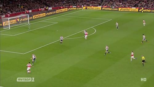 Арсенал - Вест Бромвич - 2:0. Видеообзор матча