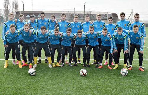 Украина U-16 добыла победу в финале турнира УЕФА