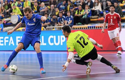Кубок УЕФА: Газпром-Югра в серии пенальти сильнее Бенфики