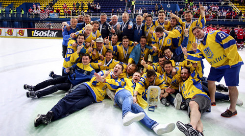 Эдуард Захарченко - лучший вратарь чемпионата мира