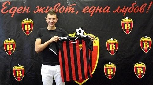Евгений Новак стал чемпионом Македонии в составе Вардара
