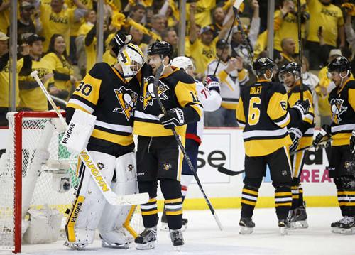 НХЛ. Питтсбург вышел вперед в серии с Вашингтоном