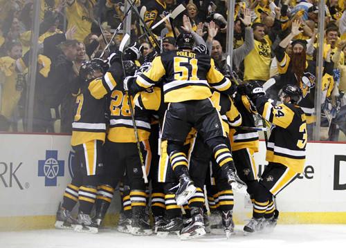 НХЛ. Питтсбург уходит в отрыв в серии с Вашингтоном