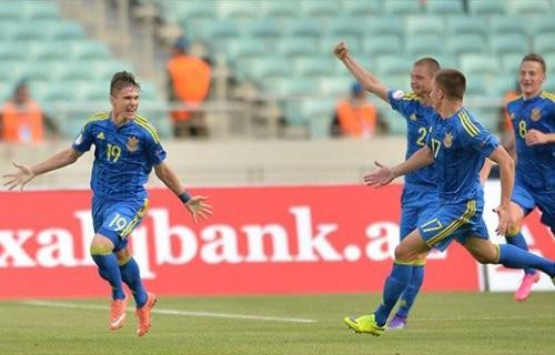 Украина U-17 стартует с ничьей против Германии